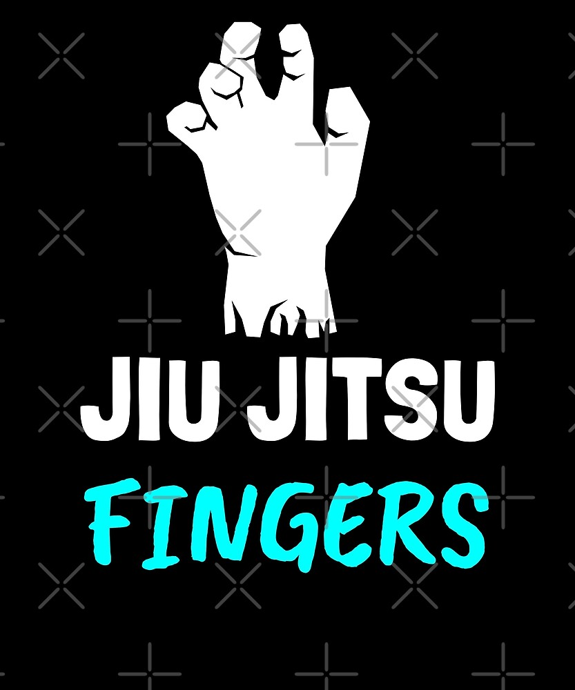 Jiu Jitsu Fingers, Grappling, BJJ by Energetic-Mind