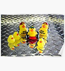 Yellow Ducks Racing Team ~ The Official Team Picture Poster