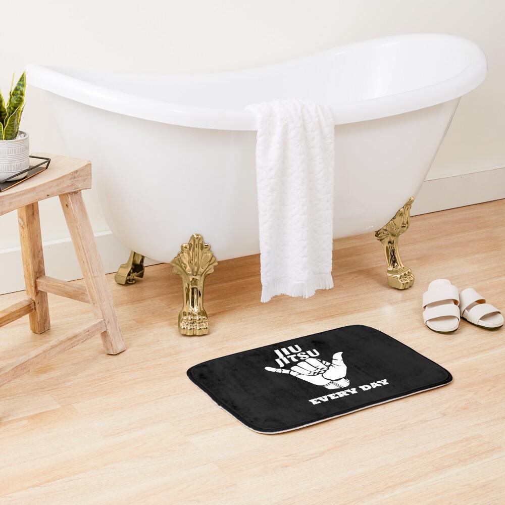 Jiu Jitsu Everyday, Brazilian Jiu Jitsu, BJJ, Grappling Bath Mat
