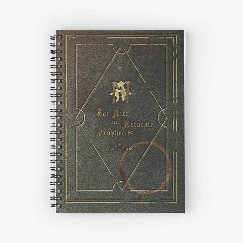 the nice and accurate prophecies of agnes nutter Spiral Notebook
