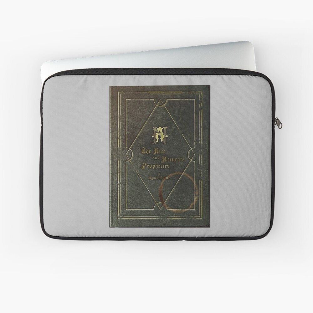 the nice and accurate prophecies of agnes nutter Laptop Sleeve