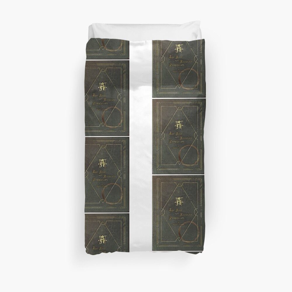 the nice and accurate prophecies of agnes nutter Duvet Cover