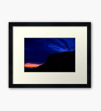 ♥ ♥ ♥ ♥ series . Nightfall Harbak - Sor Trondelag . Norway. Brown Sugar Story.  BViews (504) favorited by (1) thanks ! Framed Print