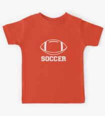 FOOTBALL (SOCCER) Kids Tee