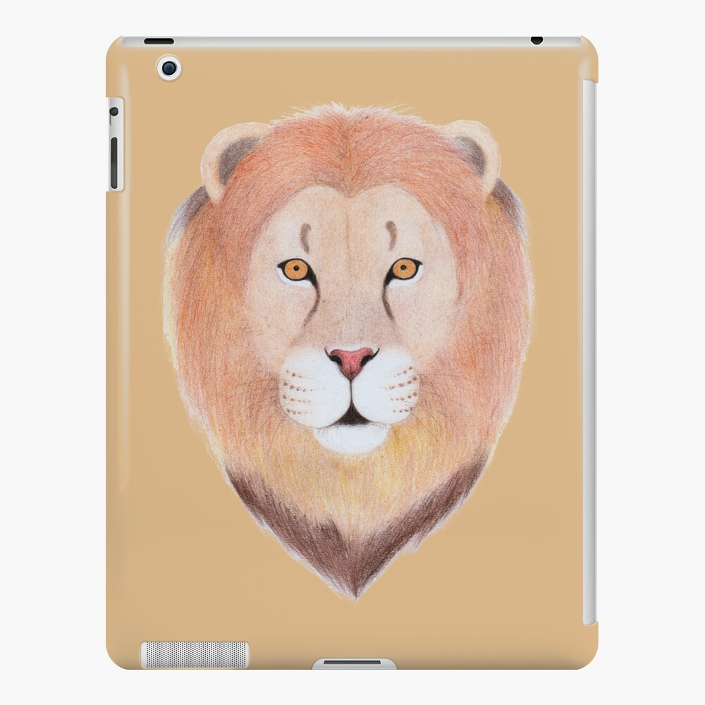 African Lion iPad Case & Skin