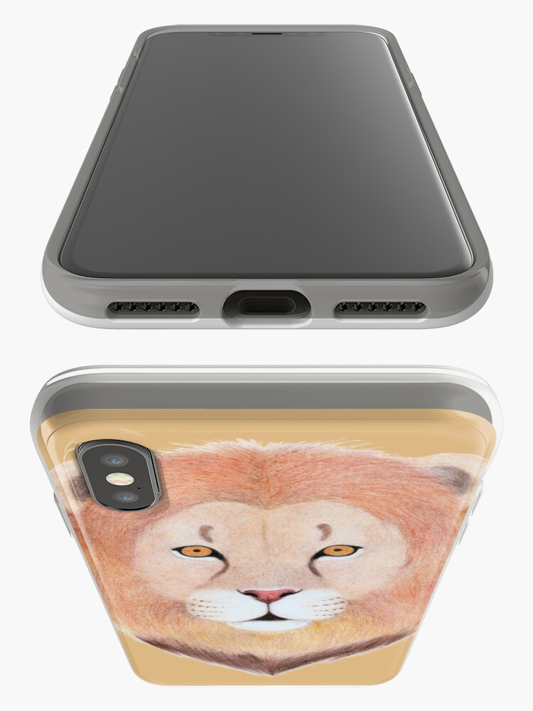 Alternate view of African Lion iPhone Case & Cover