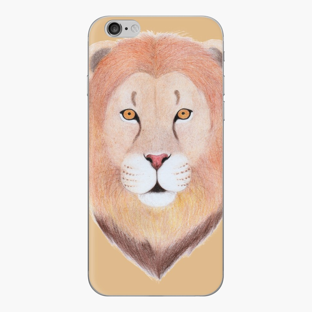 African Lion iPhone Skin