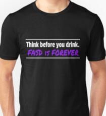 Verbreiten Sie das FASD-Bewusstsein überall! Slim Fit T-Shirt