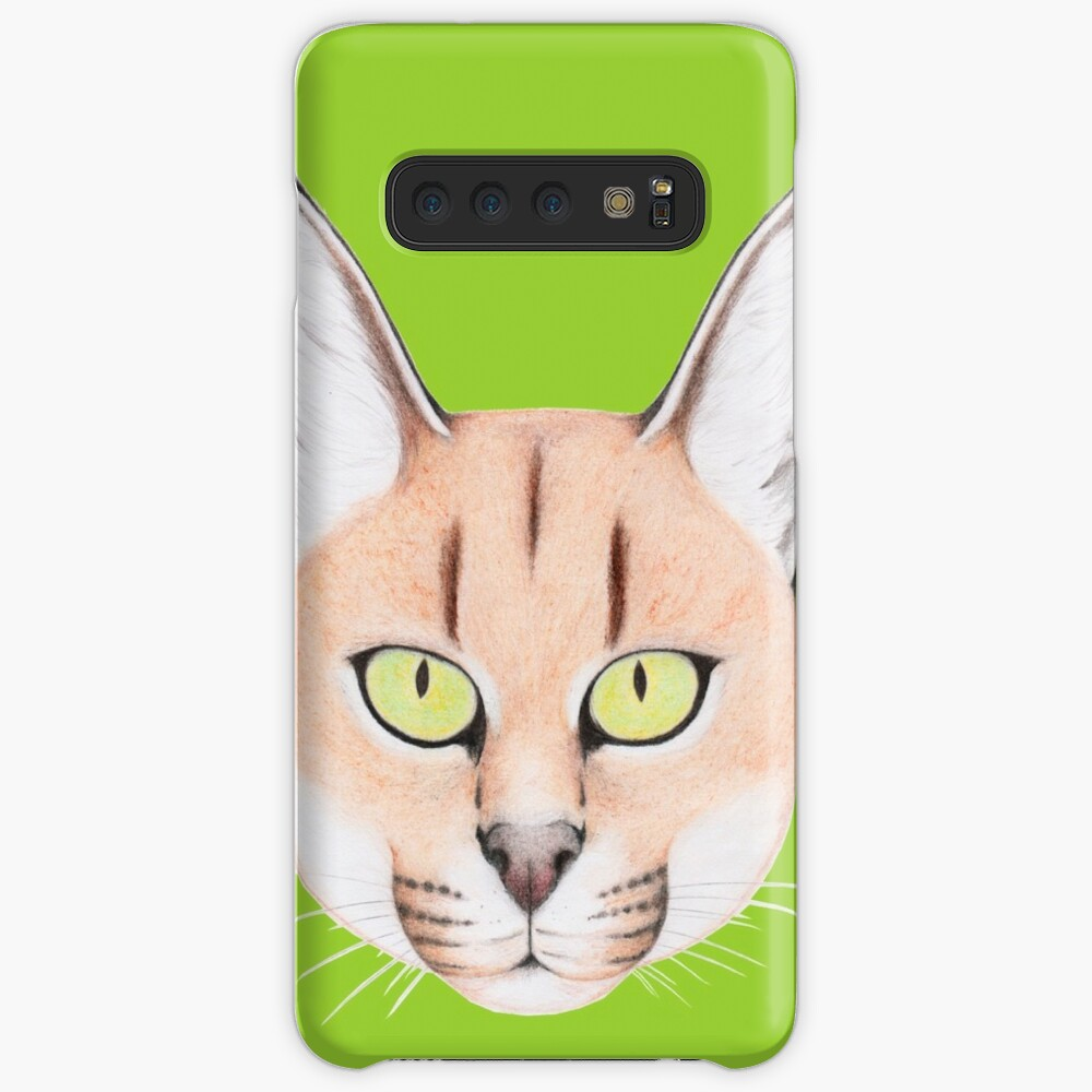 African Caracal Cat Case & Skin for Samsung Galaxy