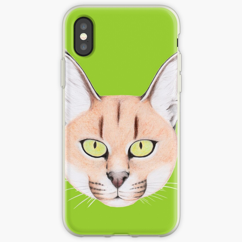 African Caracal Cat iPhone Case & Cover