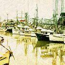 Fisherman's Wharf by pat gamwell