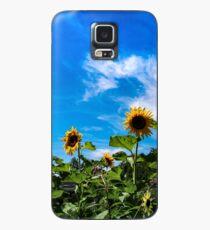 Funda/vinilo para Samsung Galaxy Sun flowers