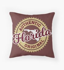 FLORIDA - AUTHENTIC ORIGINAL - STATE COLORS Floor Pillow