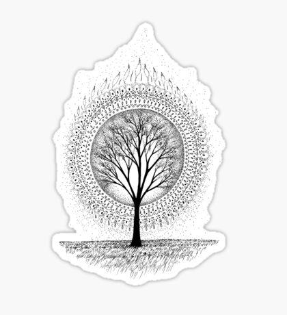 Aura Botanica 2 Sticker