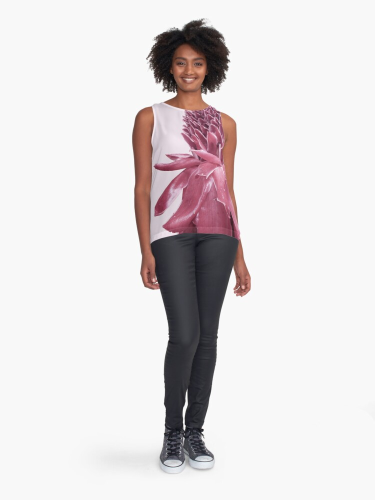 Alternate view of Monochrome - Banana blossom Sleeveless Top