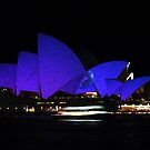 Vivid Opera House  by Michael John