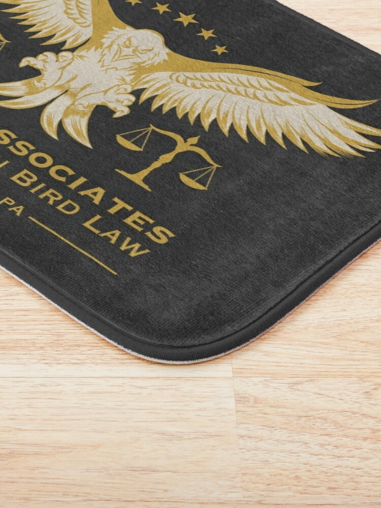 Alternate view of Philadelphia Bird Law Bath Mat