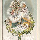 German Vintage Children's Prayer at Christmas Time  by edsimoneit
