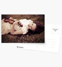 Violinist Dream Postcards