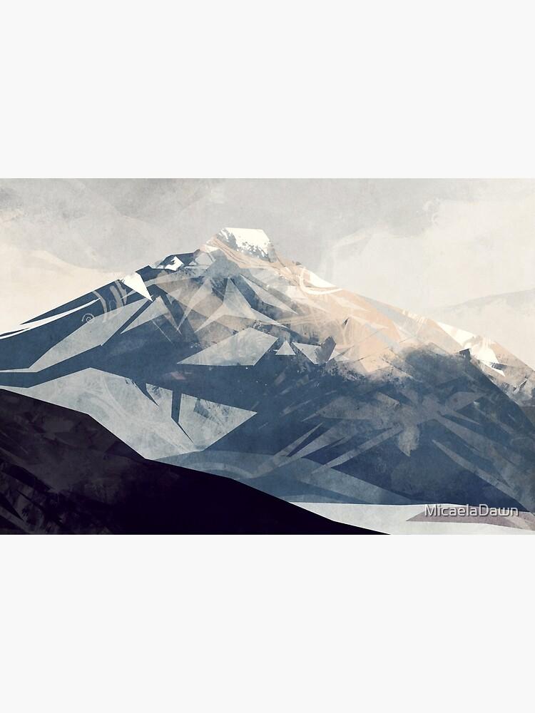 Calming Mountain by MicaelaDawn