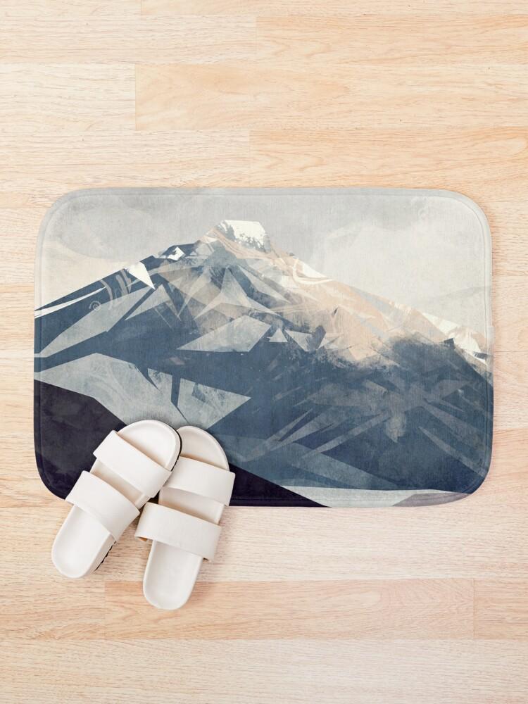 Alternate view of Calming Mountain Bath Mat