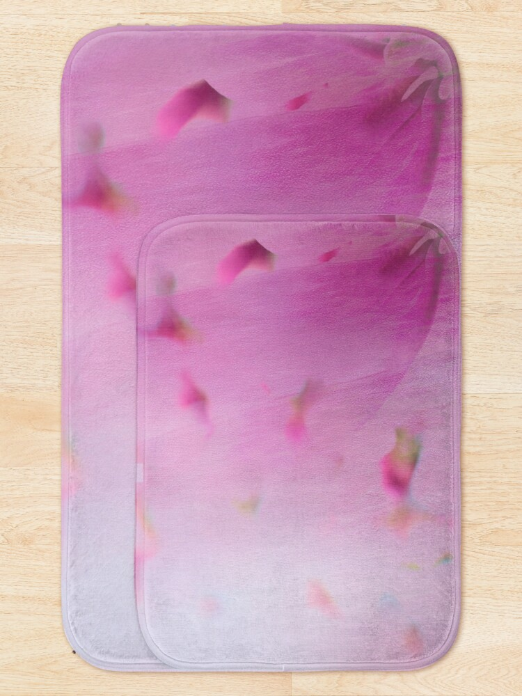 Alternate view of Watercolor Magnolia Bath Mat