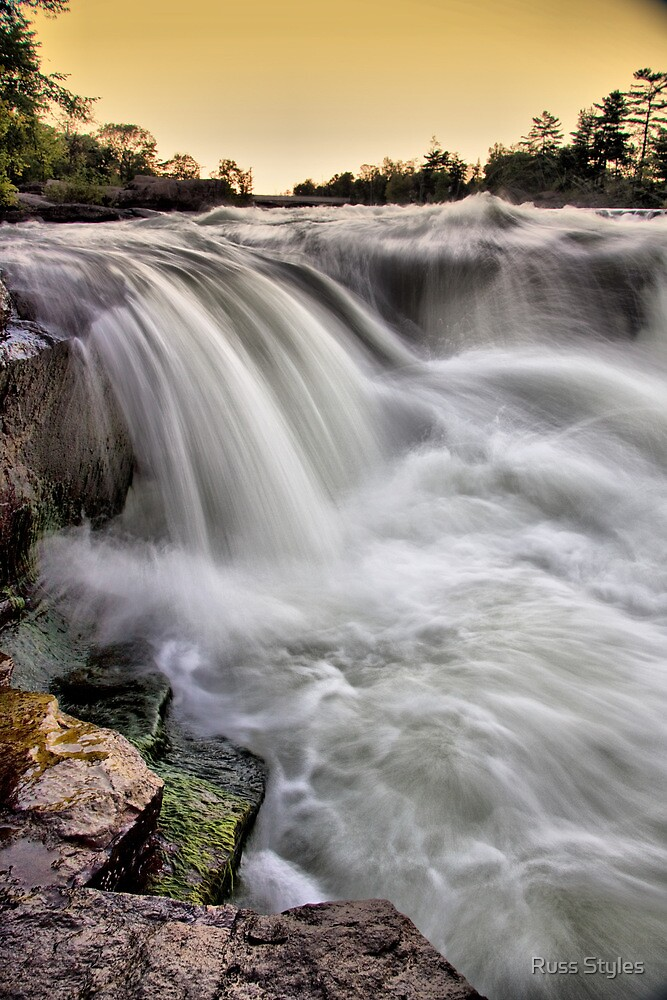 Crystal cascade by Russ Styles