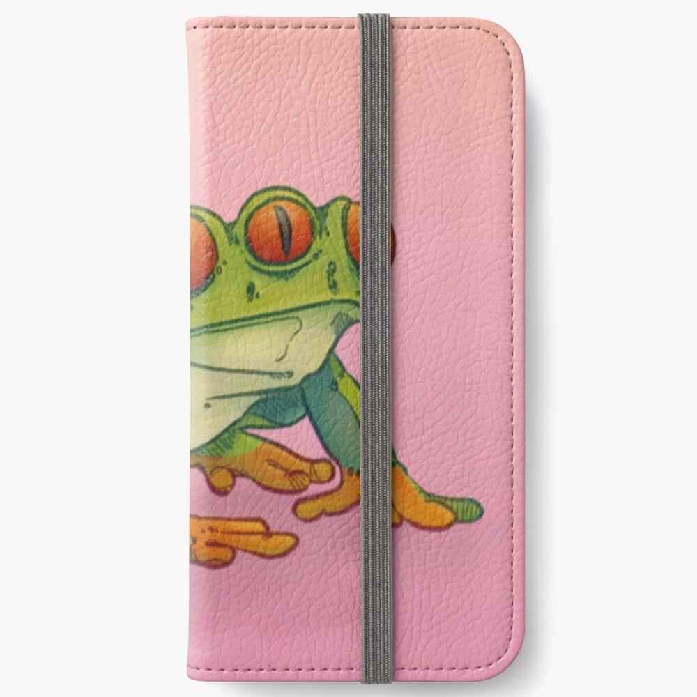 3 EYES FROG iPhone Wallet