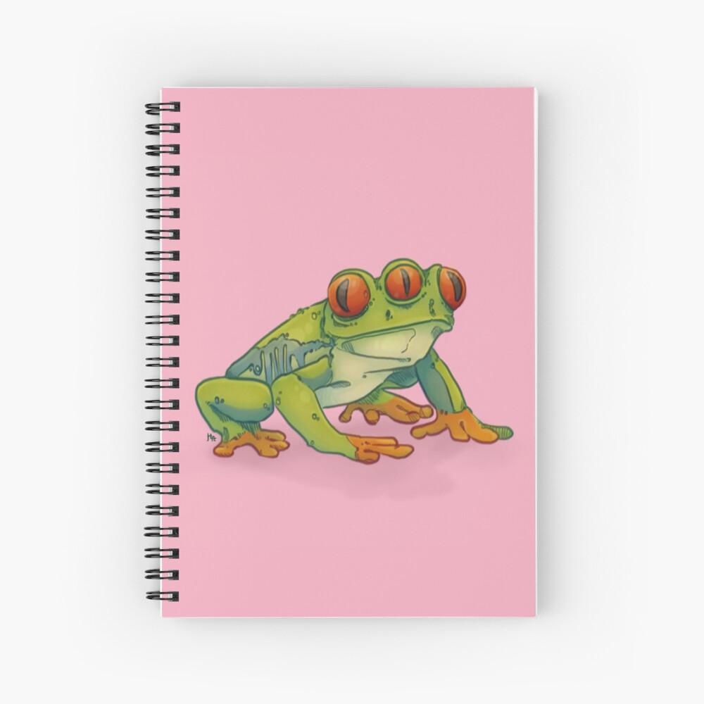 3 EYES FROG Spiral Notebook