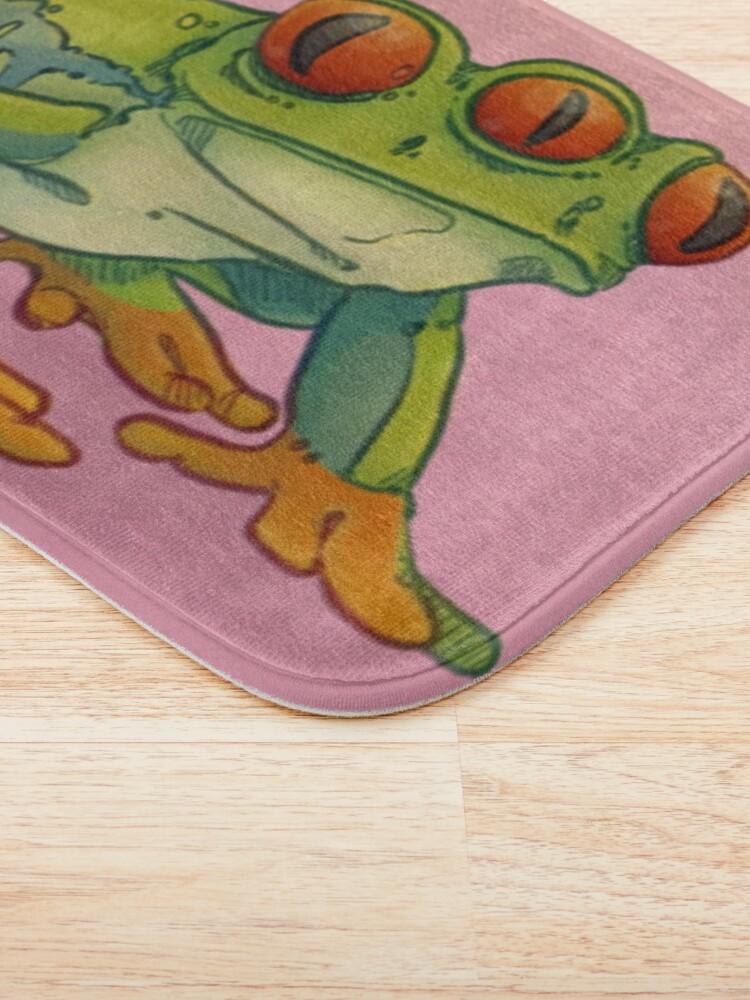 Alternate view of 3 EYES FROG Bath Mat