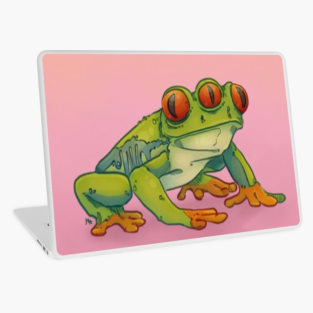 3 EYES FROG Laptop Skin