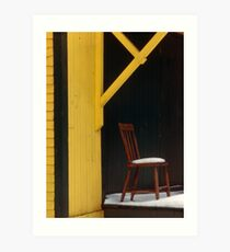 Awaiting - Berwick, Nova Scotia Art Print