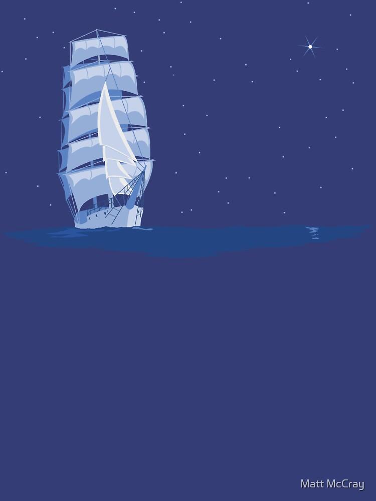 A Tall Ship by darthapo