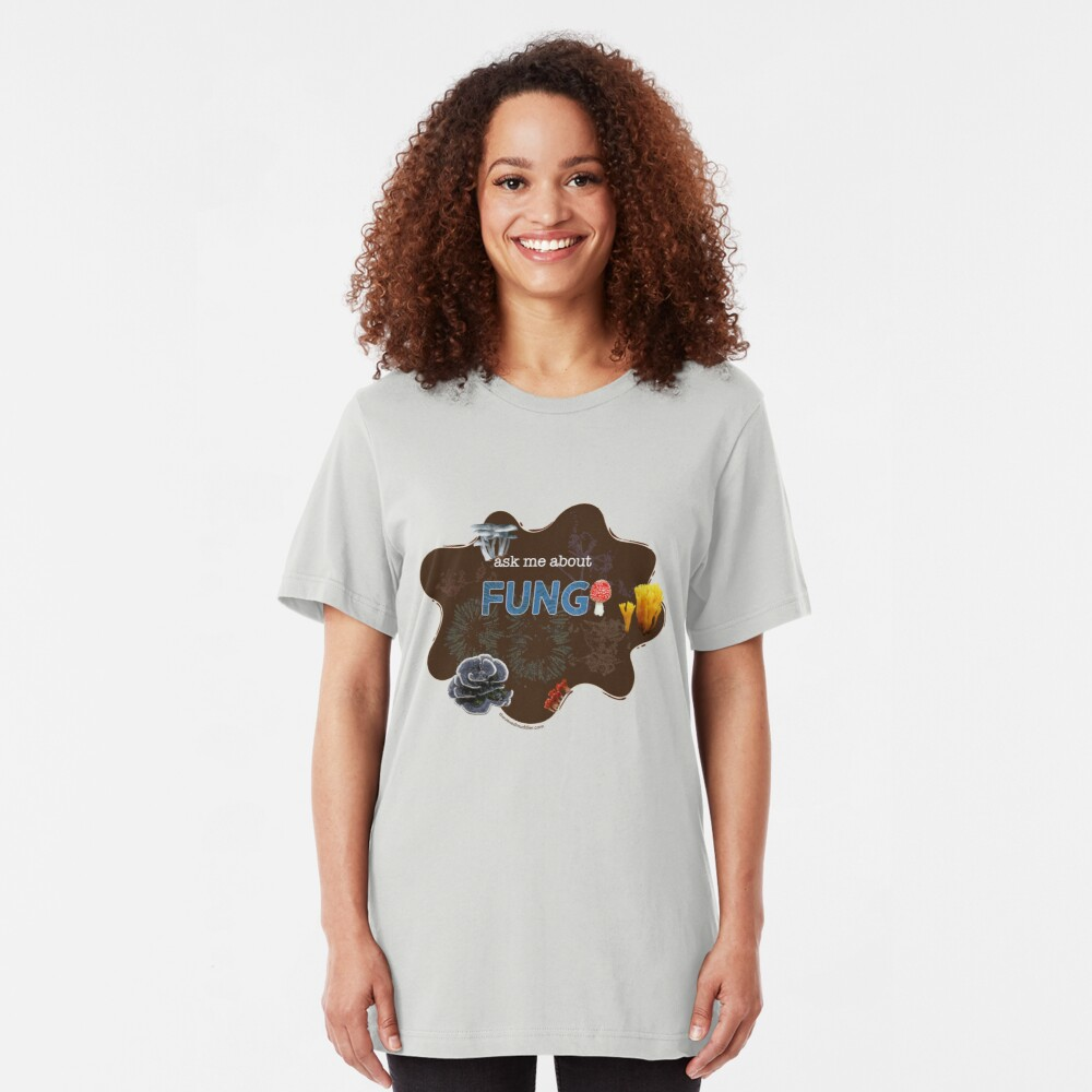 Ask me about FUNGI Slim Fit T-Shirt