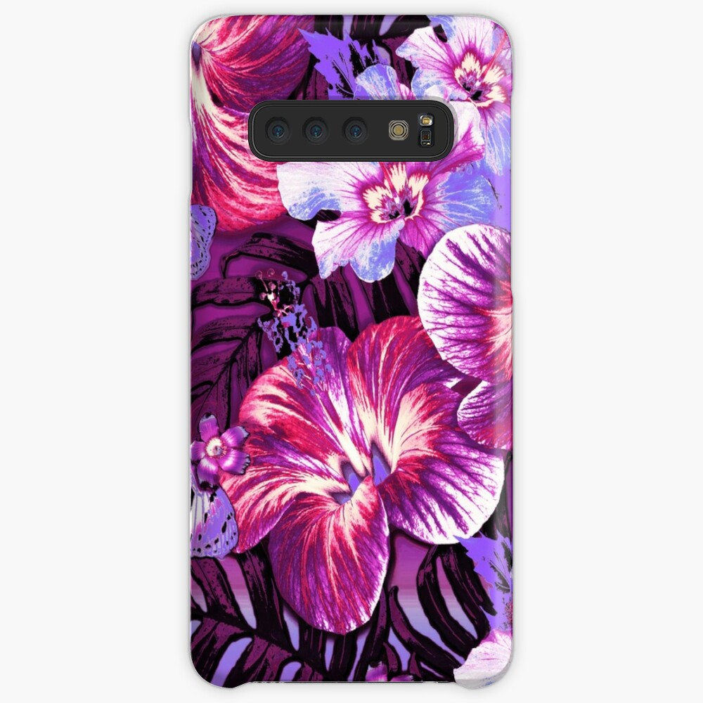 Red Violet Aloha Case & Skin for Samsung Galaxy