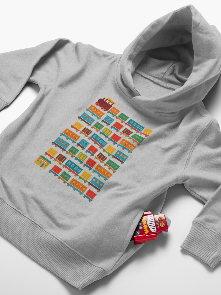 Alternate view of Train Toddler Pullover Hoodie