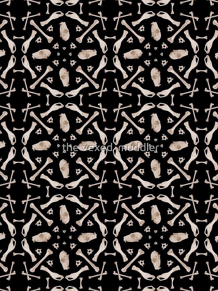 Ruffed Lemur bones by thevexedmuddler