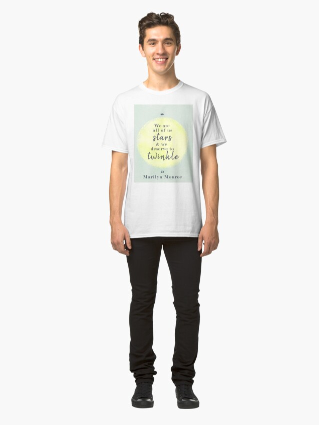 Alternate view of Marilyn Monroe Quote Classic T-Shirt