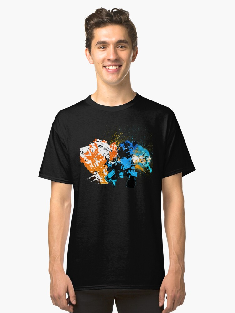 Titanfall: Titan Punch Classic T-Shirt Front