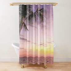 Palm in Paradise Shower Curtain