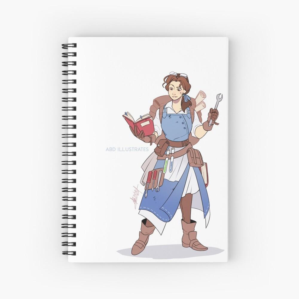 Artificer Spiral Notebook