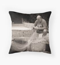 pescador Throw Pillow