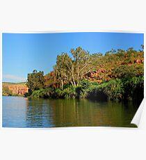 Stunning scenery in Chamberlain Gorge Poster