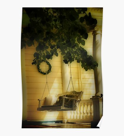 Memories, the Front Porch Swing Poster