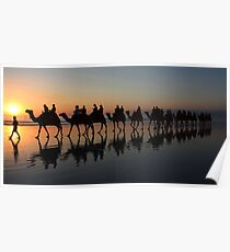 """""""Sunset Stroll"""" Poster"""