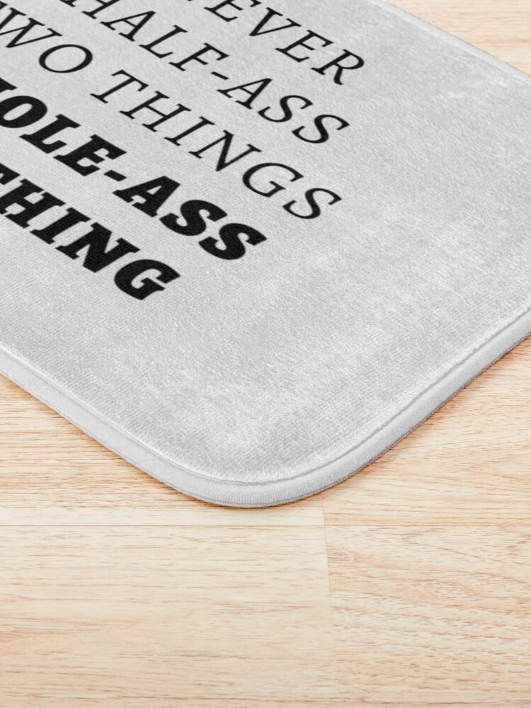 Alternate view of Whole-Ass One Thing Bath Mat