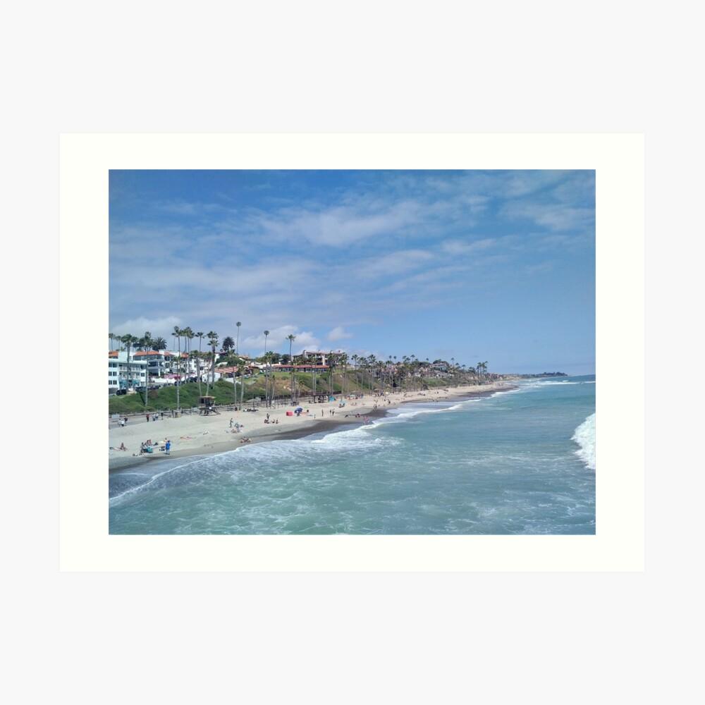 San Clemente Beach Art Print