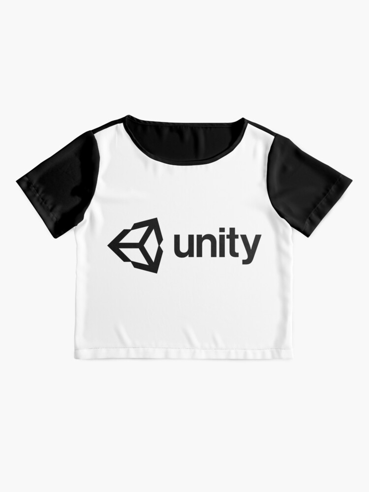 Alternate view of Unity 3D Chiffon Top