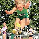 Long Jump Queen by dgbimages