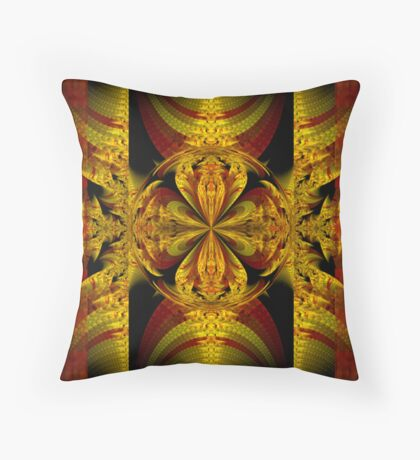 The Secret of the Golden Flower Throw Pillow